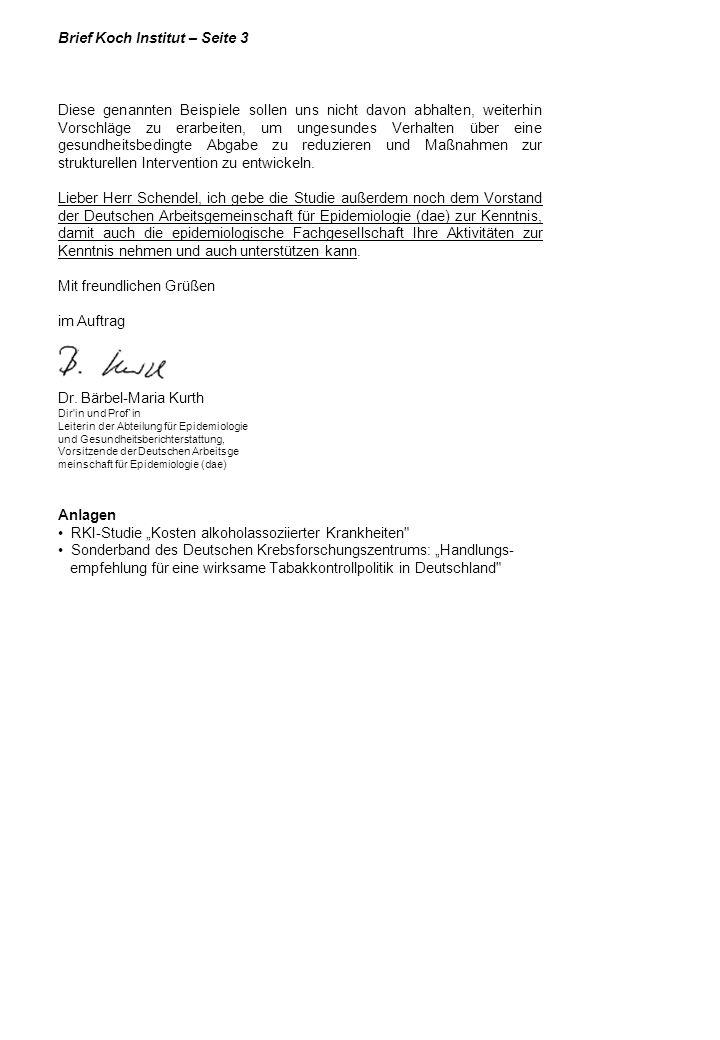 Brief Koch Institut – Seite 3