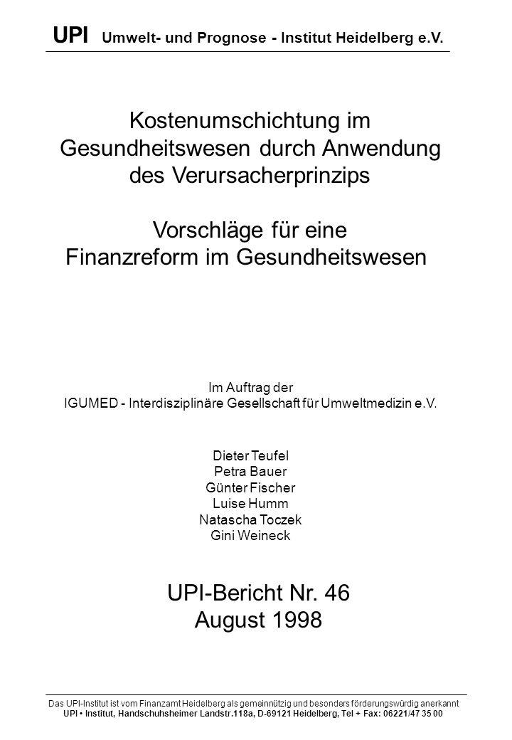 UPI Umwelt- und Prognose - Institut Heidelberg e.V.