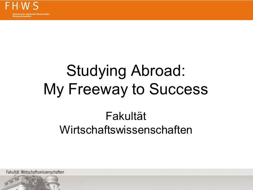 Studying Abroad: My Freeway to Success