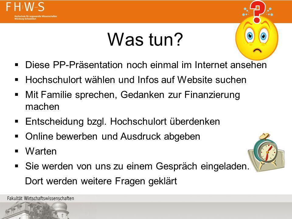 Was tun Diese PP-Präsentation noch einmal im Internet ansehen