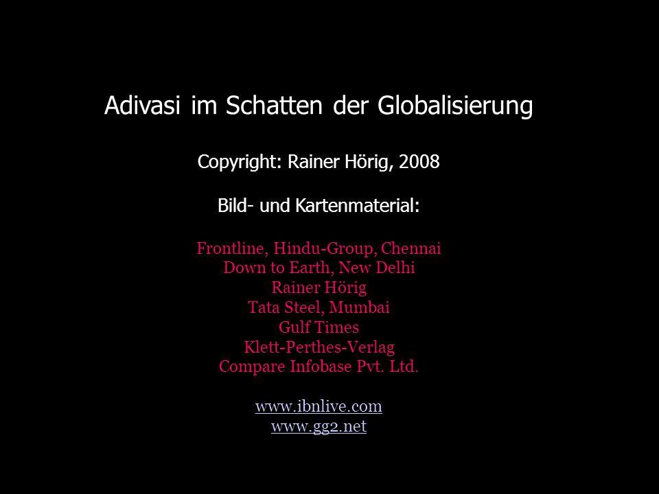 Adivasi im Schatten der Globalisierung