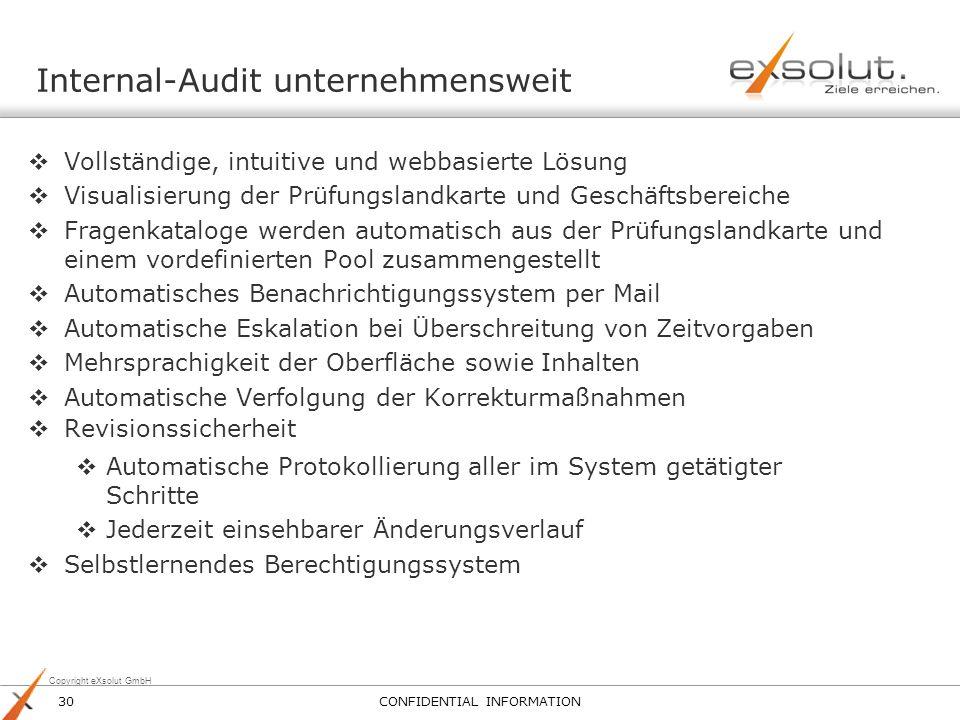 Internal-Audit unternehmensweit