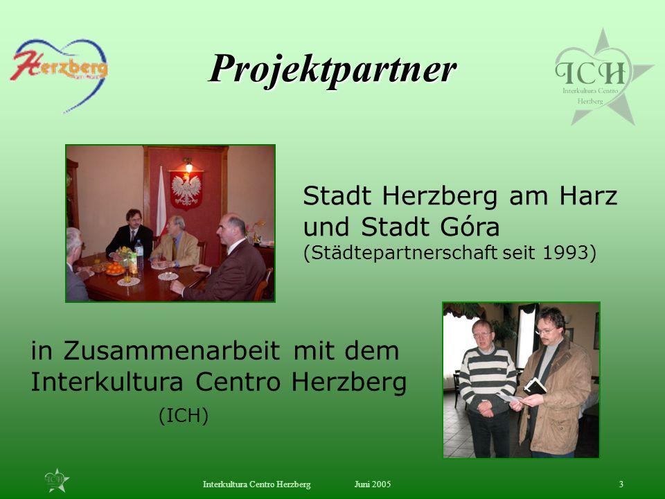 Projektpartner Stadt Herzberg am Harz und Stadt Góra