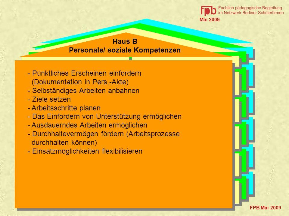 Personale/ soziale Kompetenzen