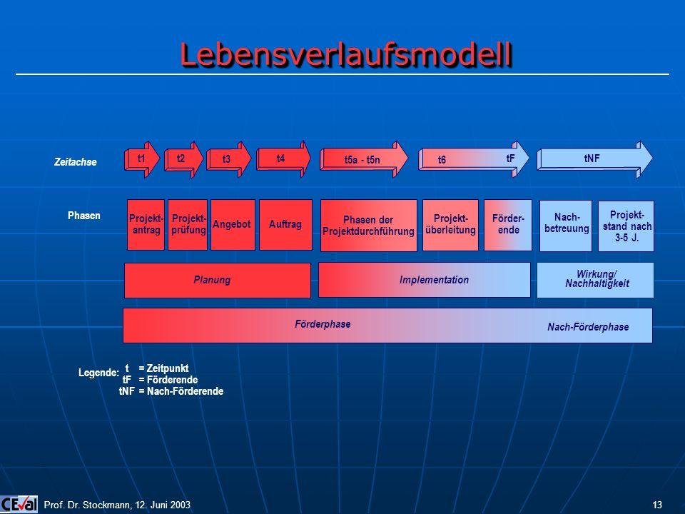 Phasen der Projektdurchführung Wirkung/ Nachhaltigkeit
