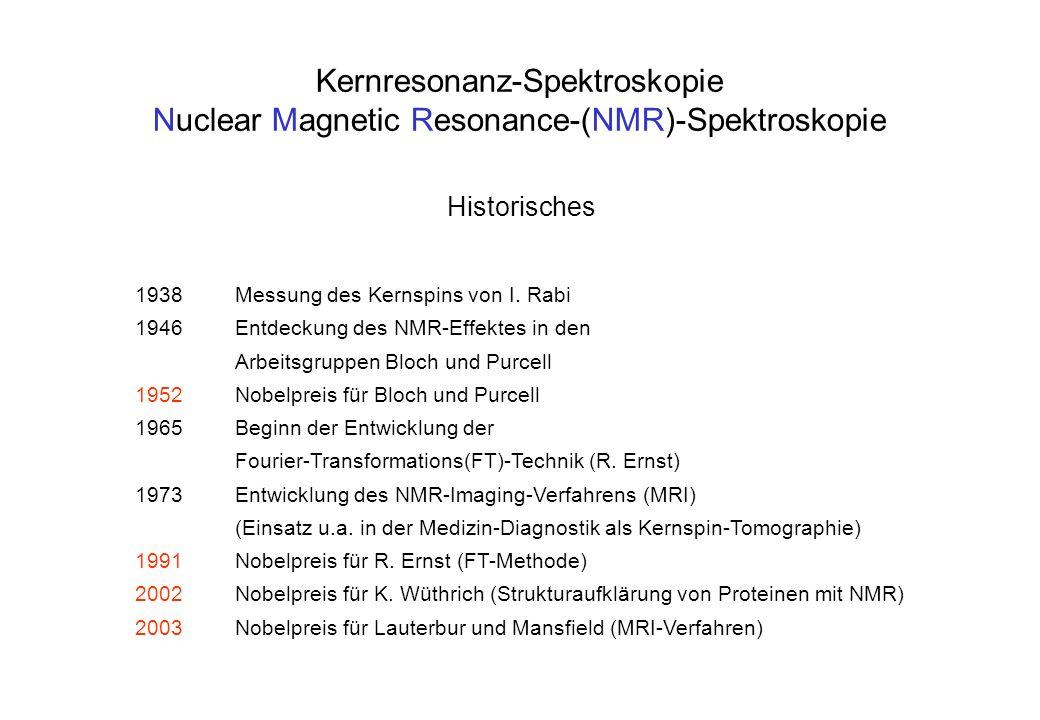 Kernresonanz-Spektroskopie