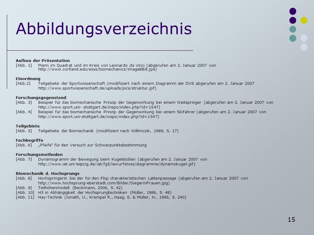 Abbildungsverzeichnis