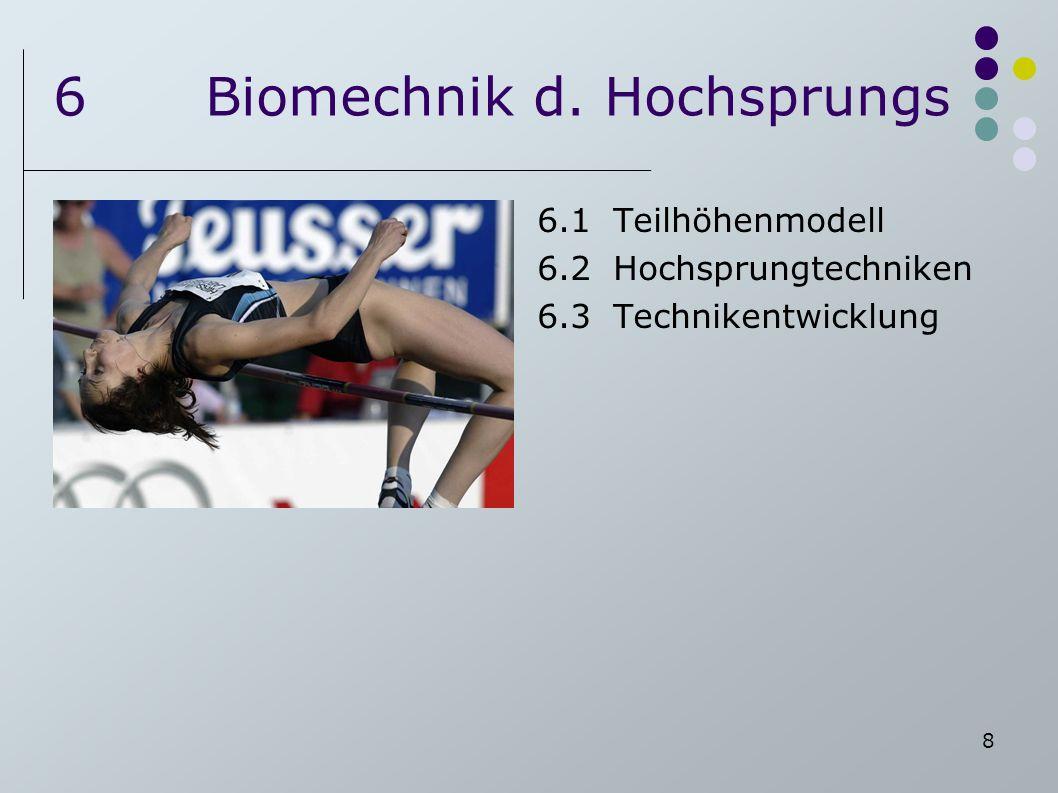 6 Biomechnik d. Hochsprungs
