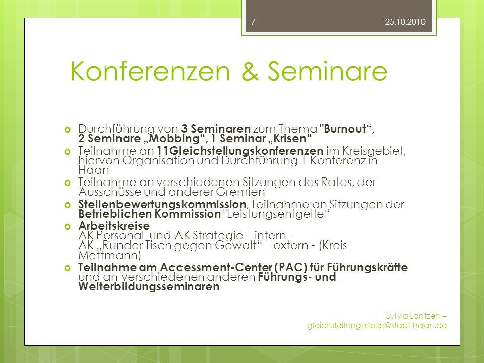 Konferenzen & Seminare