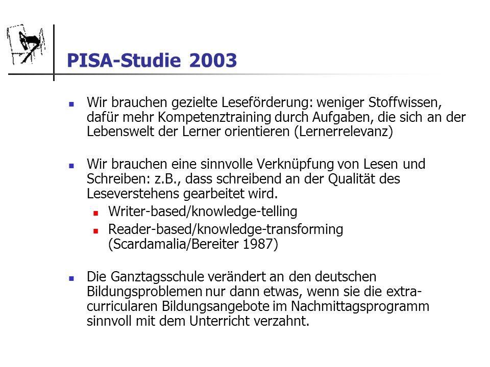 PISA-Studie 2003