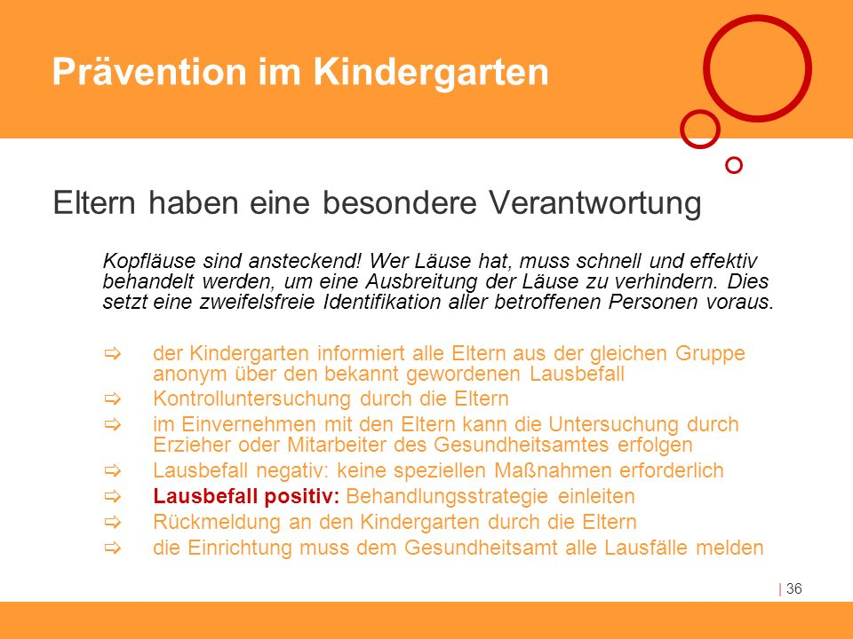 Prävention im Kindergarten