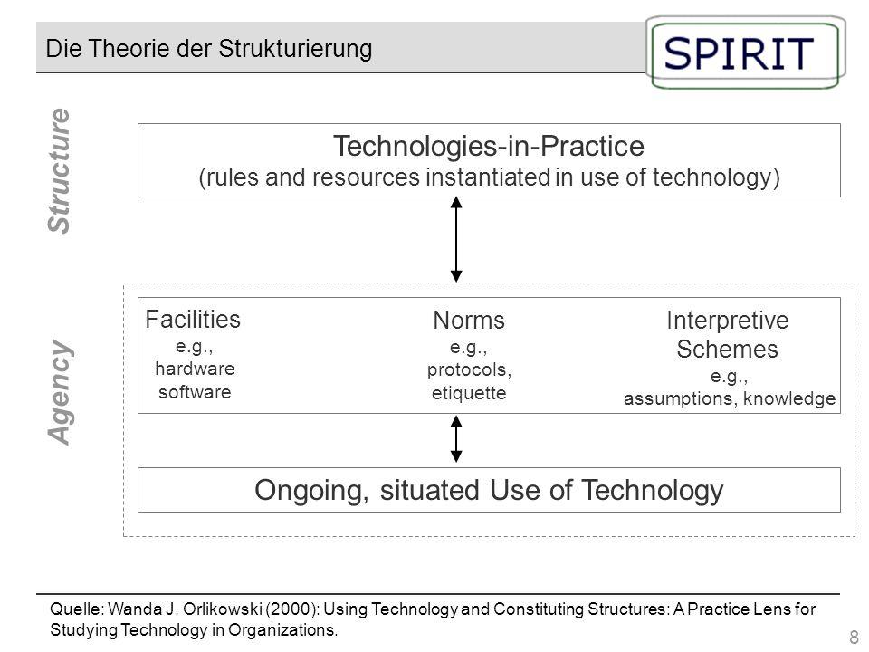 Die Theorie der Strukturierung