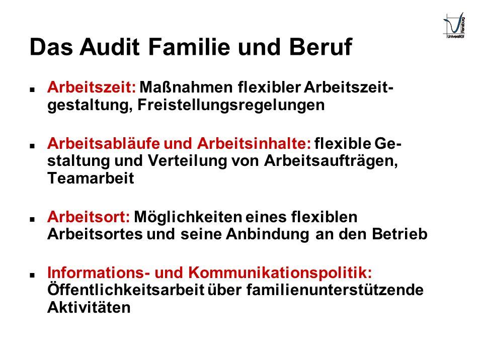 Das Audit Familie und Beruf