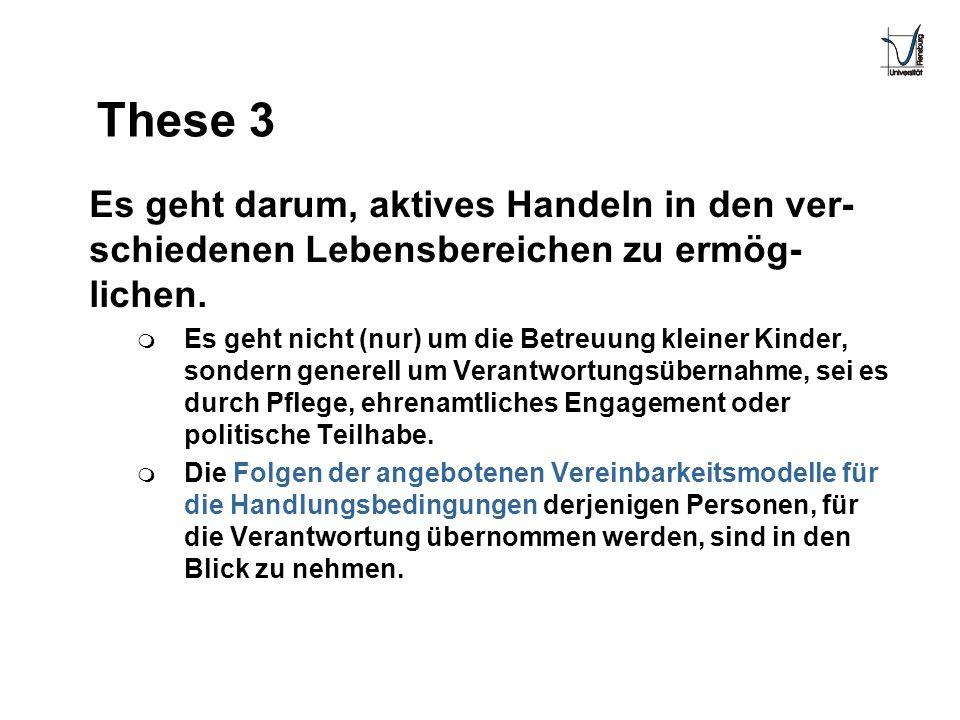 These 3 Es geht darum, aktives Handeln in den ver-schiedenen Lebensbereichen zu ermög-lichen.