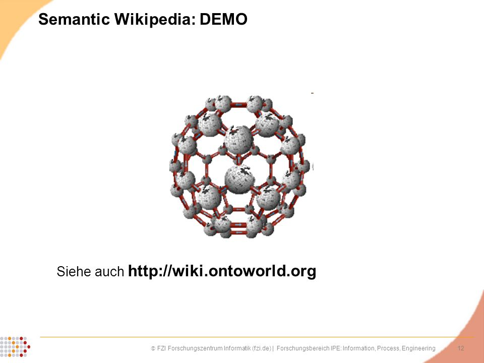 Semantic Wikipedia: DEMO