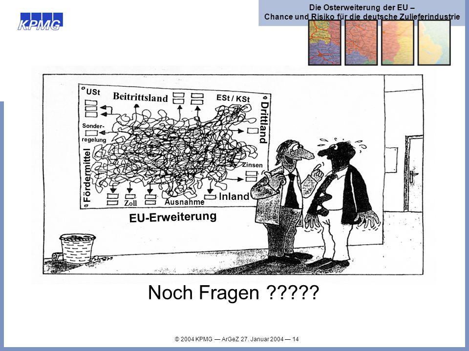 Noch Fragen EU-Erweiterung Beitrittsland Drittland Inland