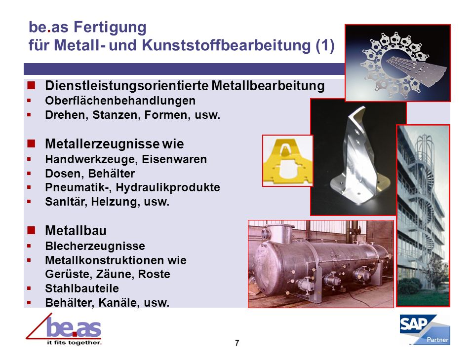 be.as Fertigung für Metall- und Kunststoffbearbeitung (1)