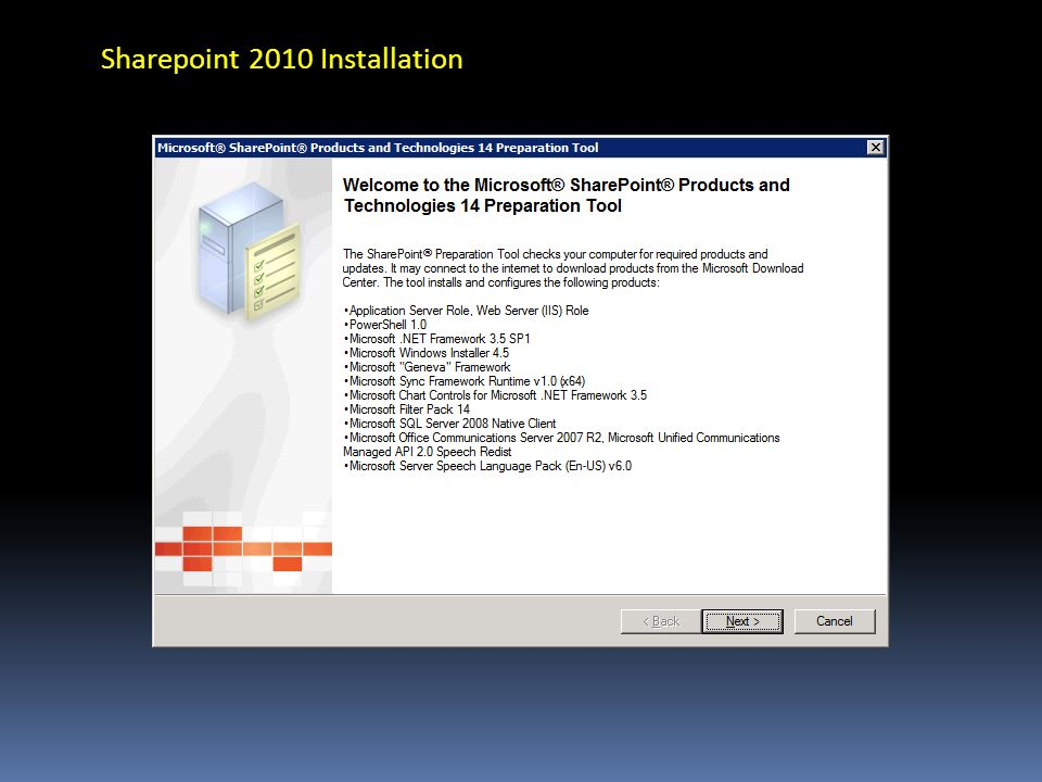 Sharepoint 2010 Installation