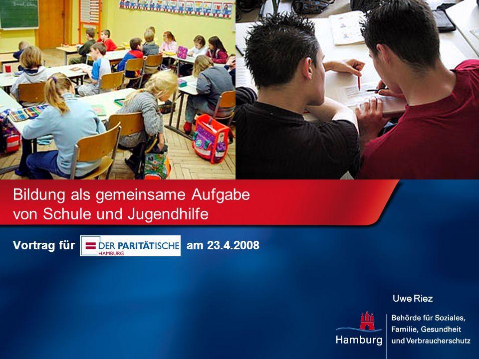 Bildung als gemeinsame Aufgabe von Schule und Jugendhilfe