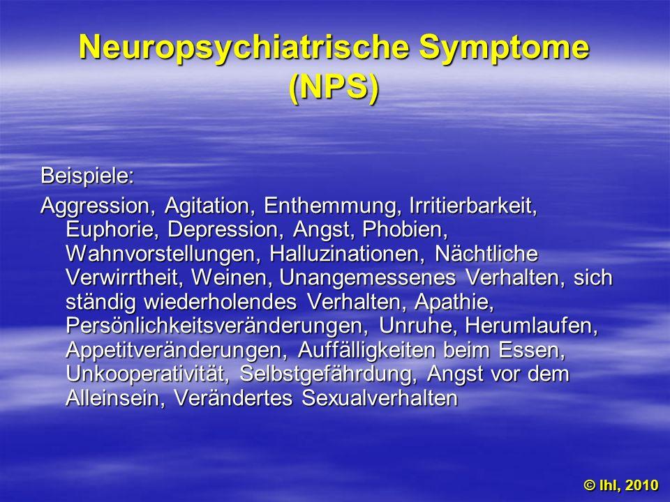 Neuropsychiatrische Symptome (NPS)