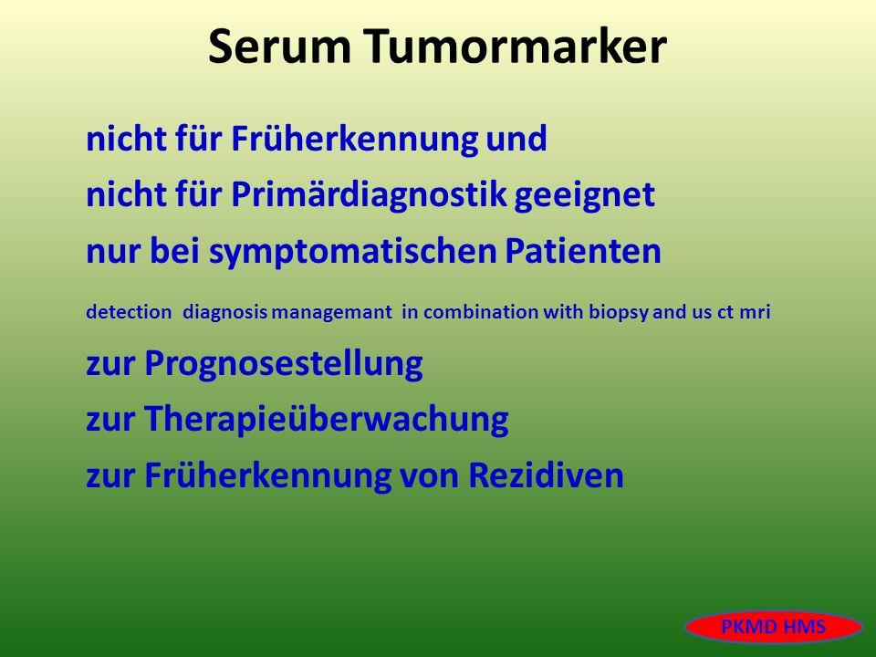 Serum Tumormarker