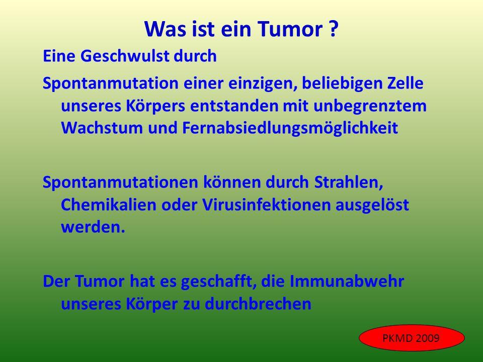 Was ist ein Tumor Eine Geschwulst durch