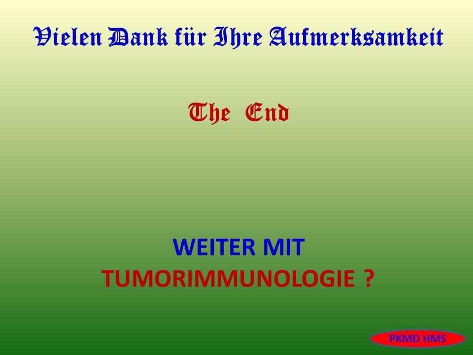 Weiter mit Tumorimmunologie
