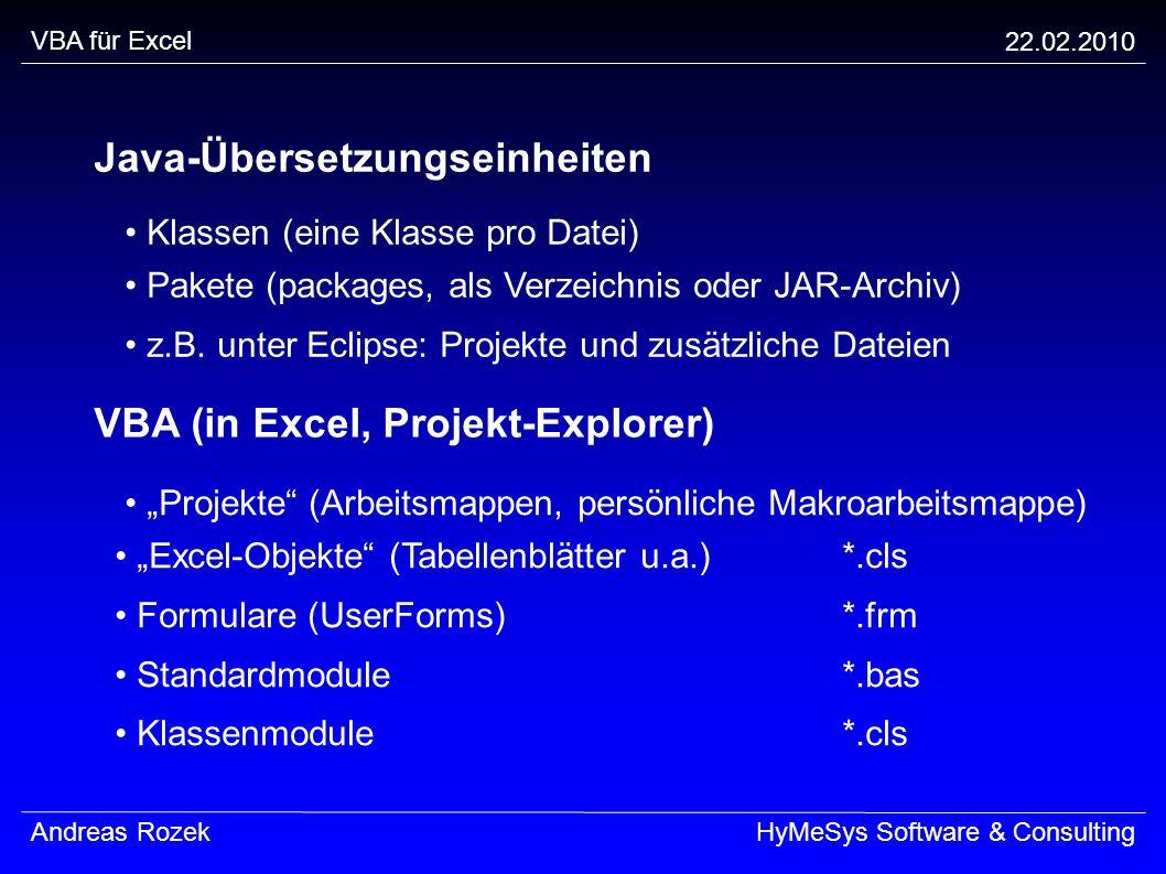 Java-Übersetzungseinheiten
