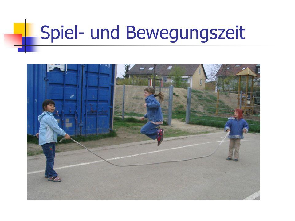 Spiel- und Bewegungszeit
