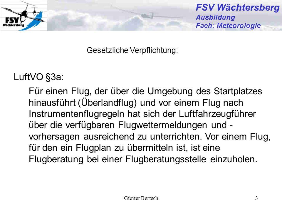 FSV Wächtersberg LuftVO §3a: