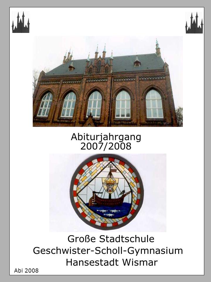 Geschwister-Scholl-Gymnasium Hansestadt Wismar