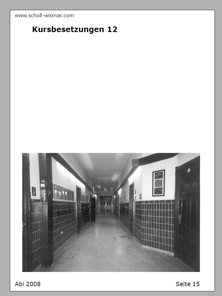 www.scholl-wismar.com Kursbesetzungen 12 Abi 2008 Seite 15