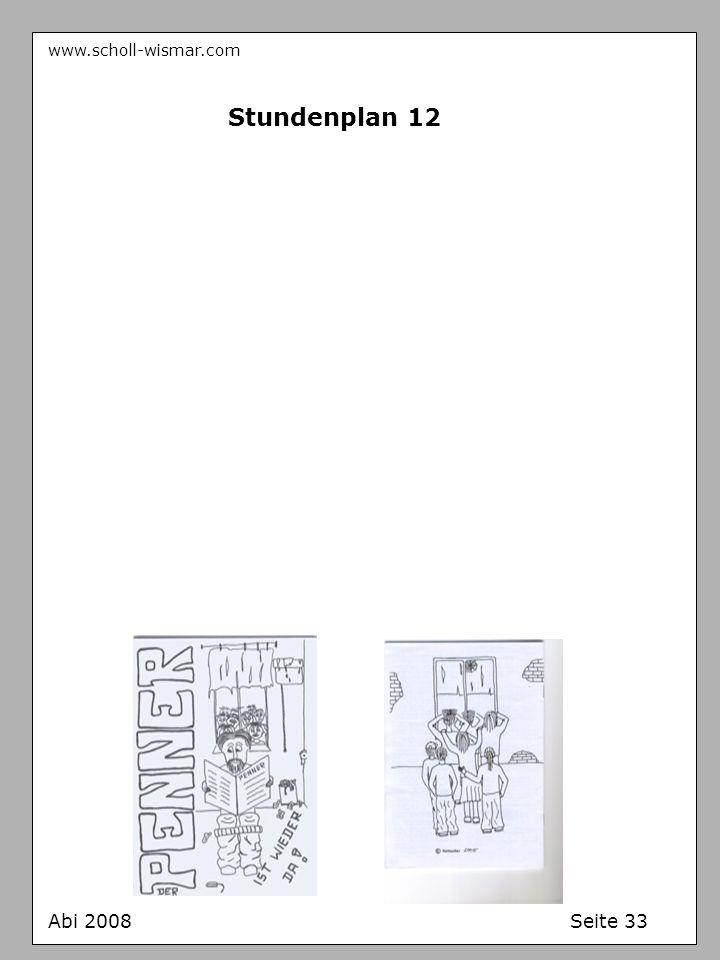 www.scholl-wismar.com Stundenplan 12 Abi 2008 Seite 33