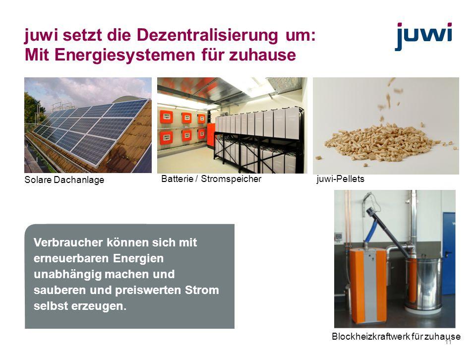 juwi setzt die Dezentralisierung um: Mit Energiesystemen für zuhause
