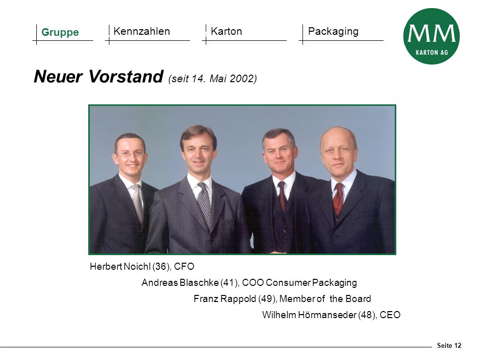 Wilhelm Hörmanseder (48), CEO