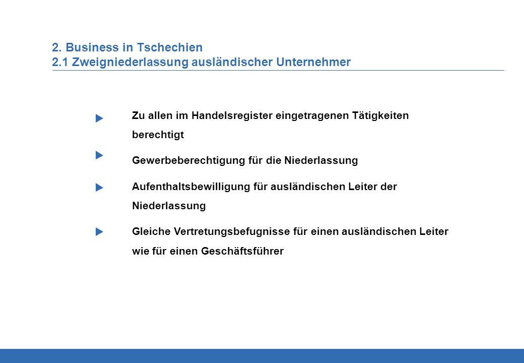 2. Business in Tschechien 2