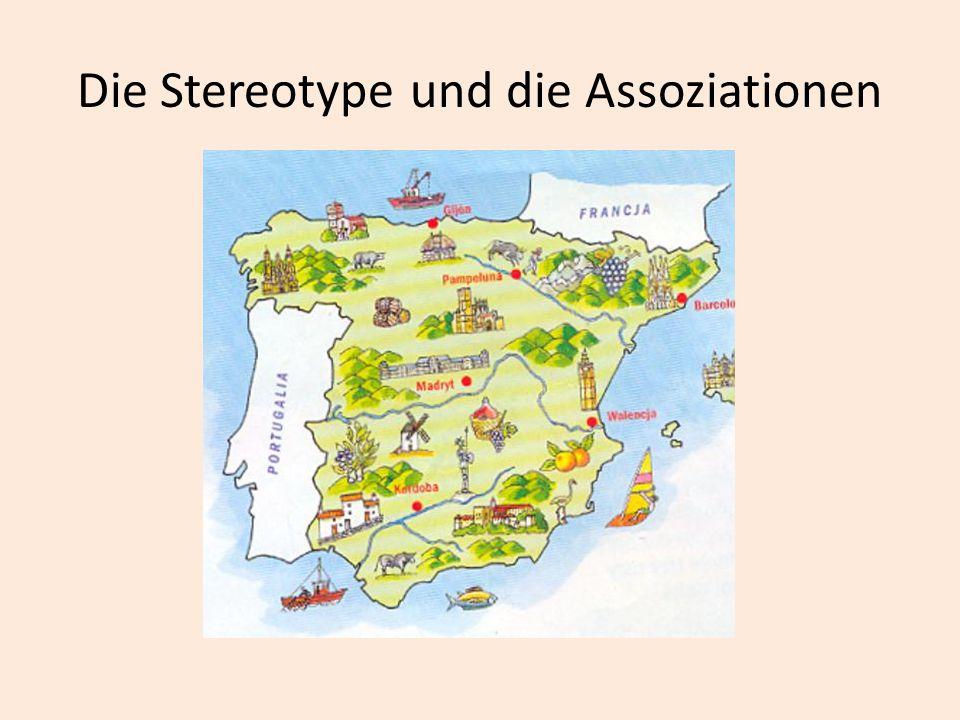 Die Stereotype und die Assoziationen