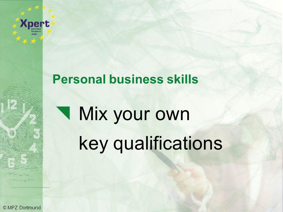 Personal business skills