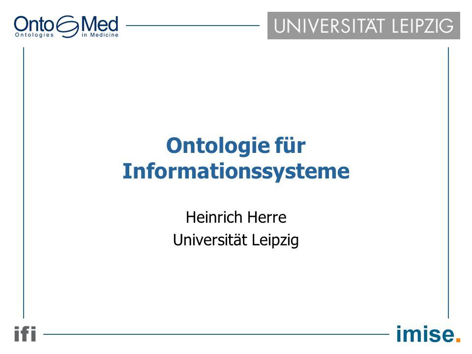 Ontologie für Informationssysteme