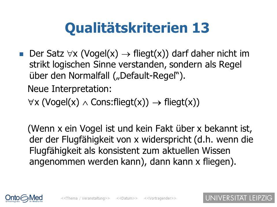 Qualitätskriterien 13
