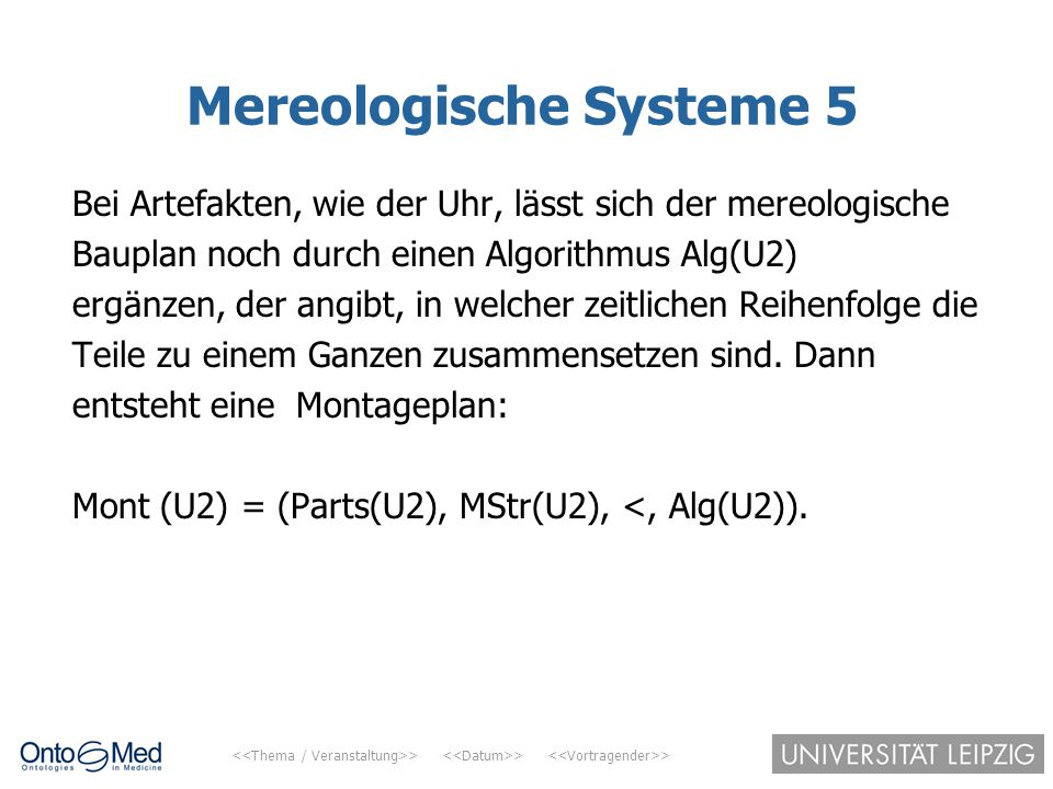 Mereologische Systeme 5