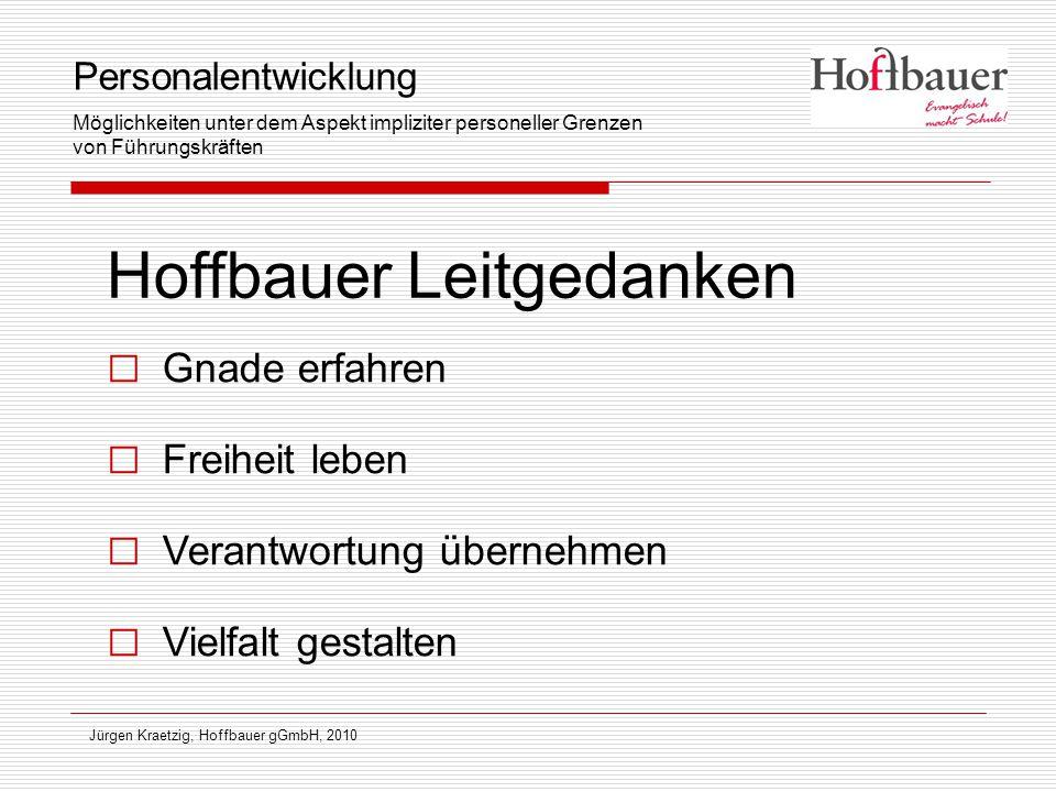 Hoffbauer Leitgedanken