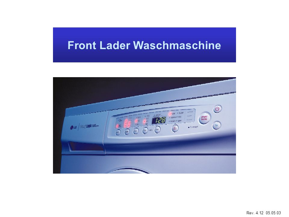 Front Lader Waschmaschine