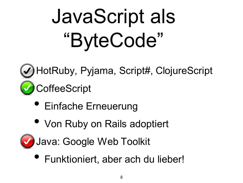 JavaScript als ByteCode