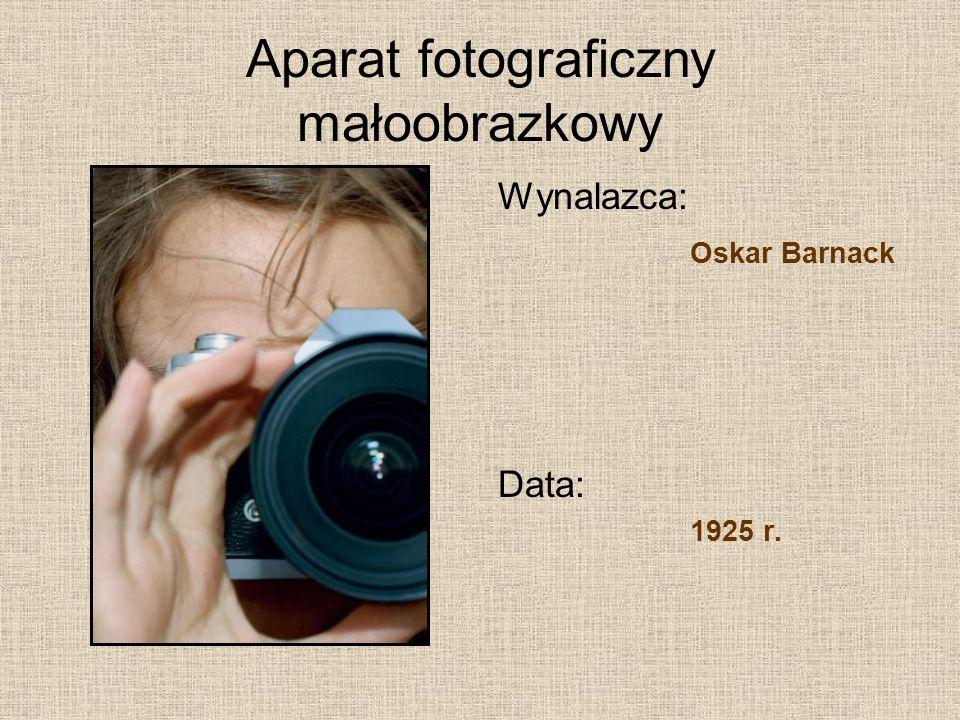 Aparat fotograficzny małoobrazkowy
