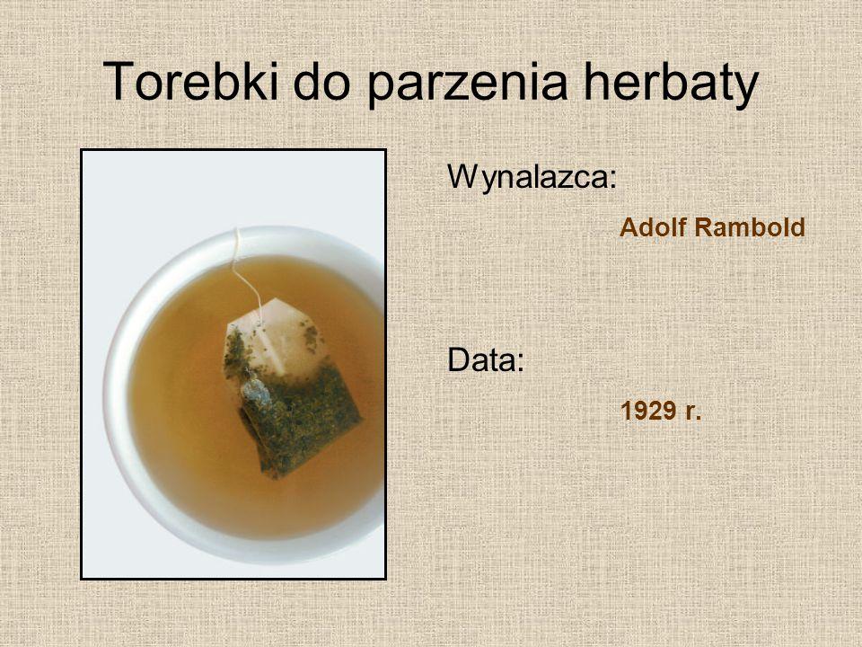 Torebki do parzenia herbaty