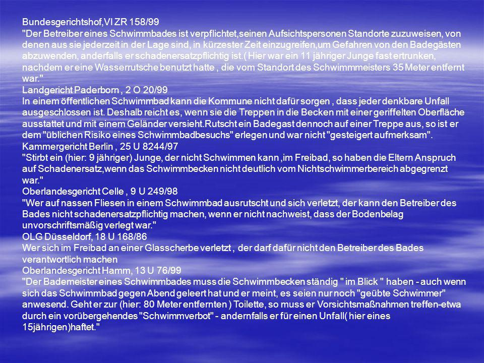 Bundesgerichtshof,VI ZR 158/99