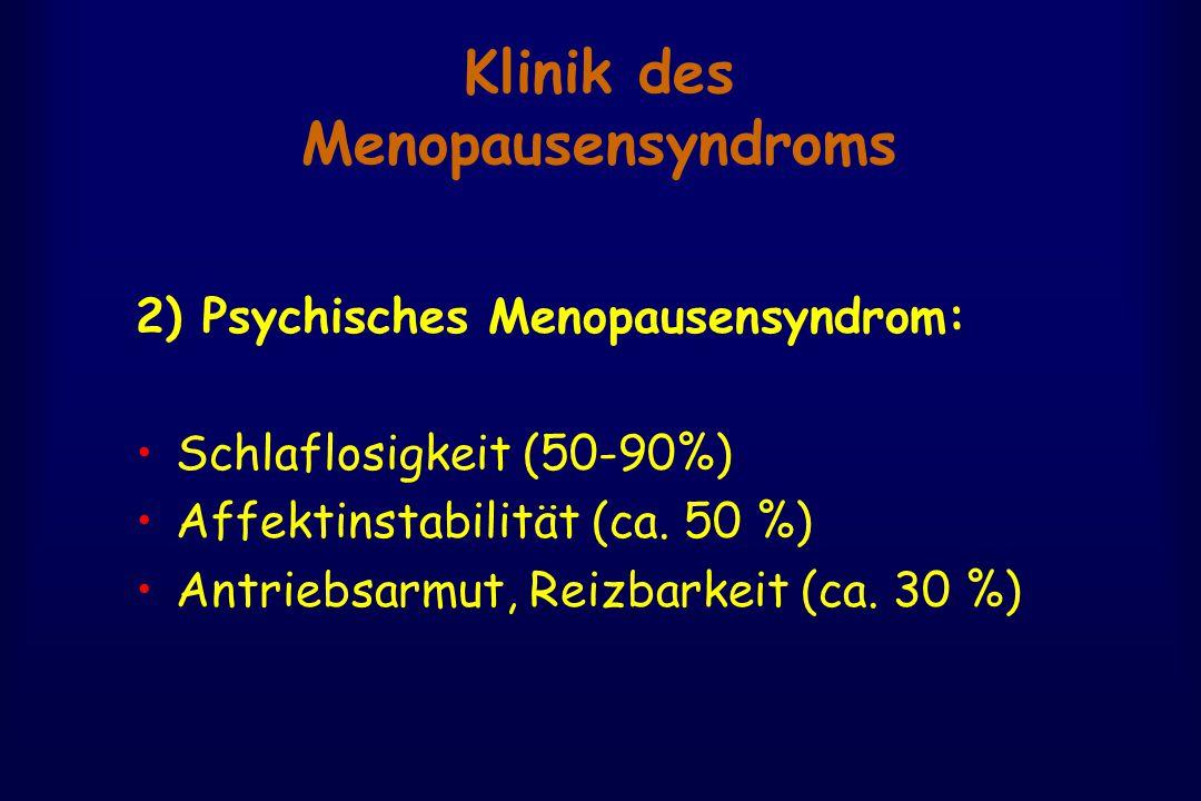 Klinik des Menopausensyndroms