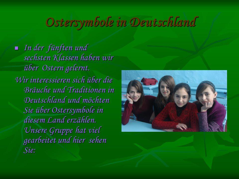 Ostersymbole in Deutschland