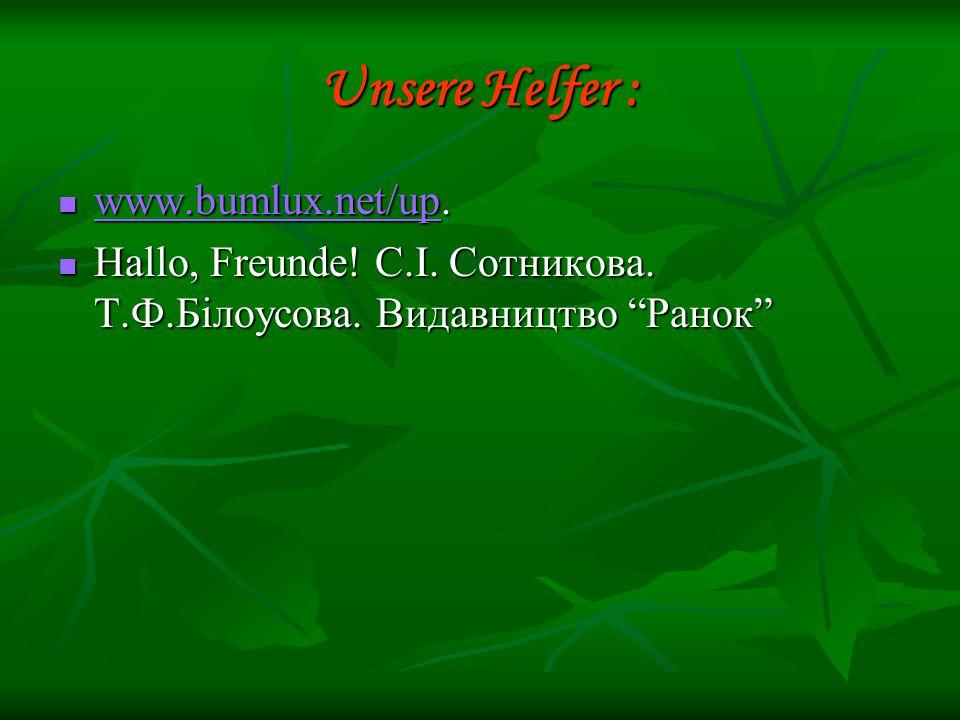 Unsere Helfer : www.bumlux.net/up.